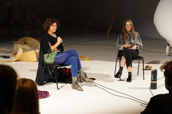 Artist Talk, Claudia Bosse und Angela Stief