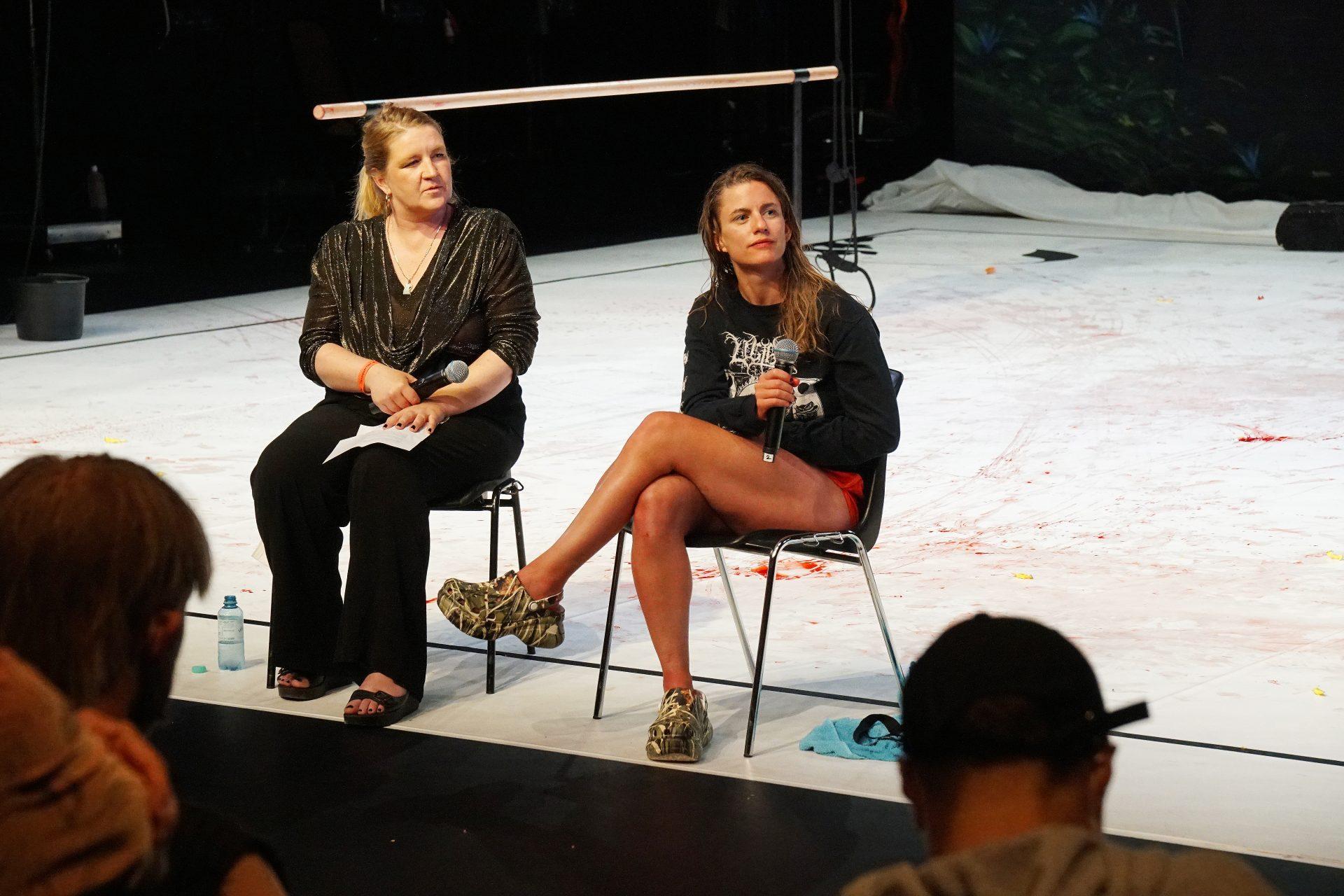Artist Talk, Denice Bourbon and Florentina Holzinger